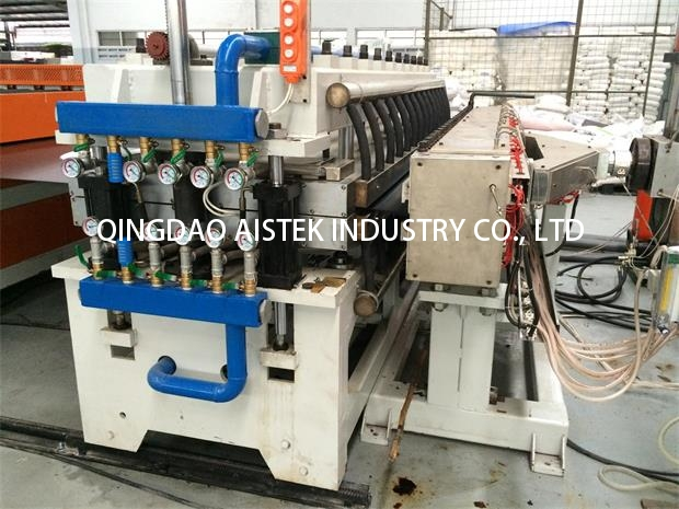 PP hollow profile extrusion line